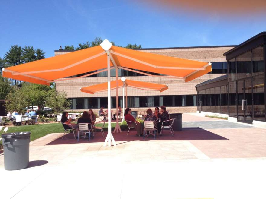 shadespot awning gives shade where you need it