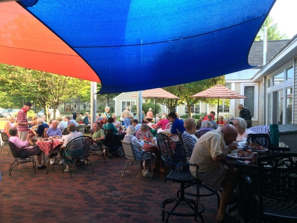 sail shade senior home