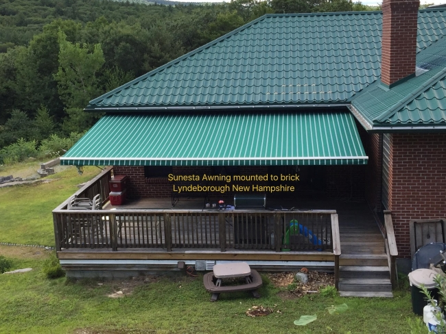 Awnings Installation Lyndeborough Nh