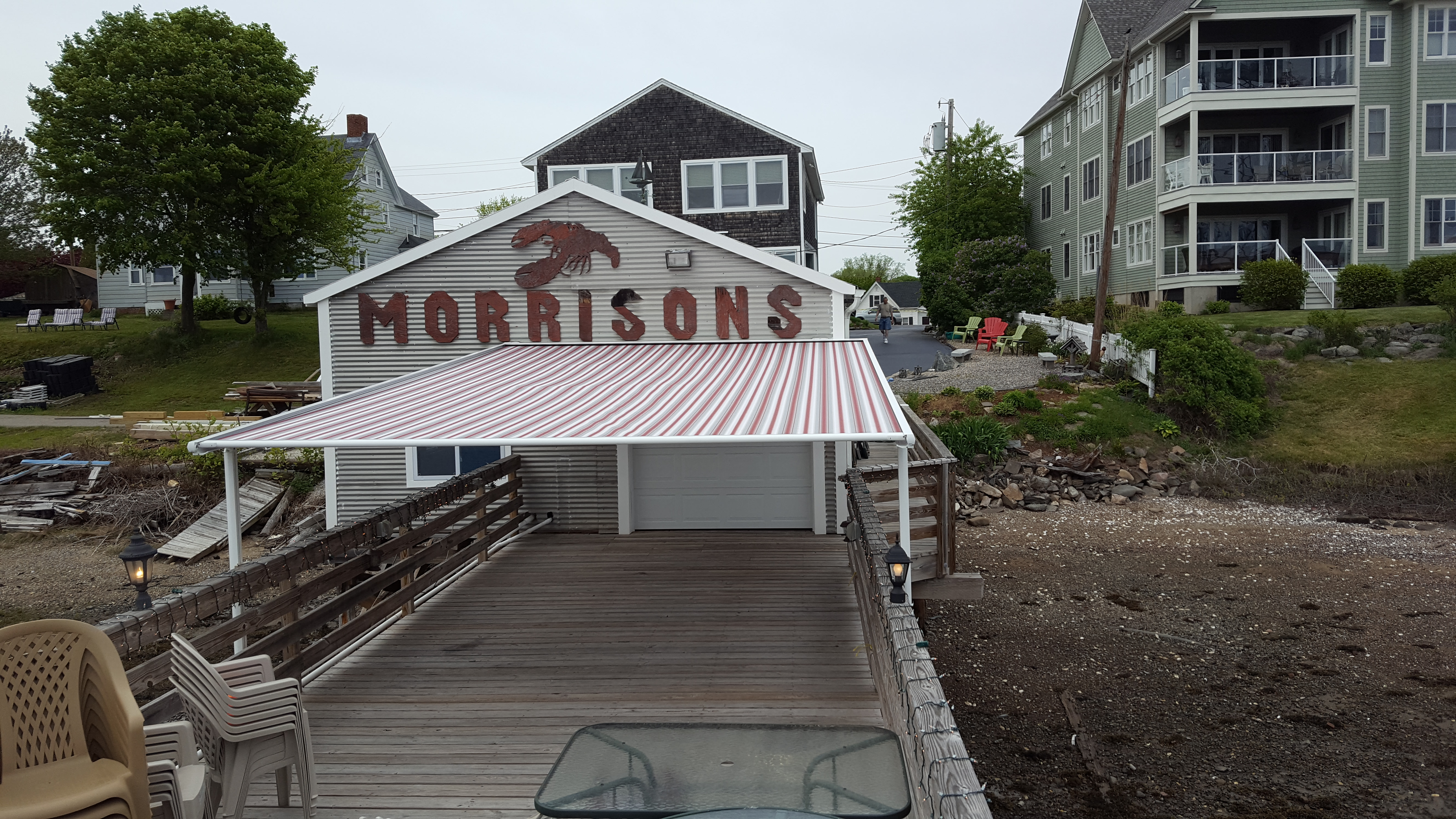 Another Fine Install By The Team On A Lobster Pier