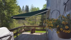 Attractive sunesta awning in Kittery Maine