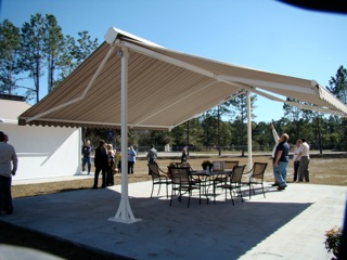 Sunesta S Most Versatile Extendable Aluminum Patio Canopy