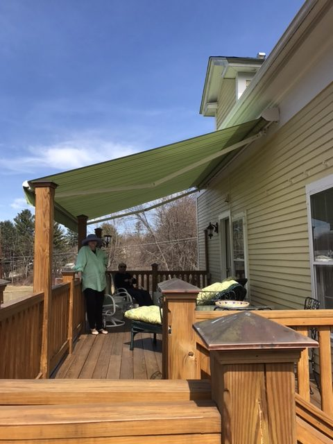 The Sunstyle Model Retractable Awning By Sunesta Awningsnh