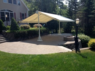 S Most Versatile Extendable Aluminum Patio Canopy Is