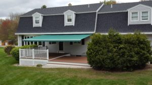 Sunesta on a gambrel home