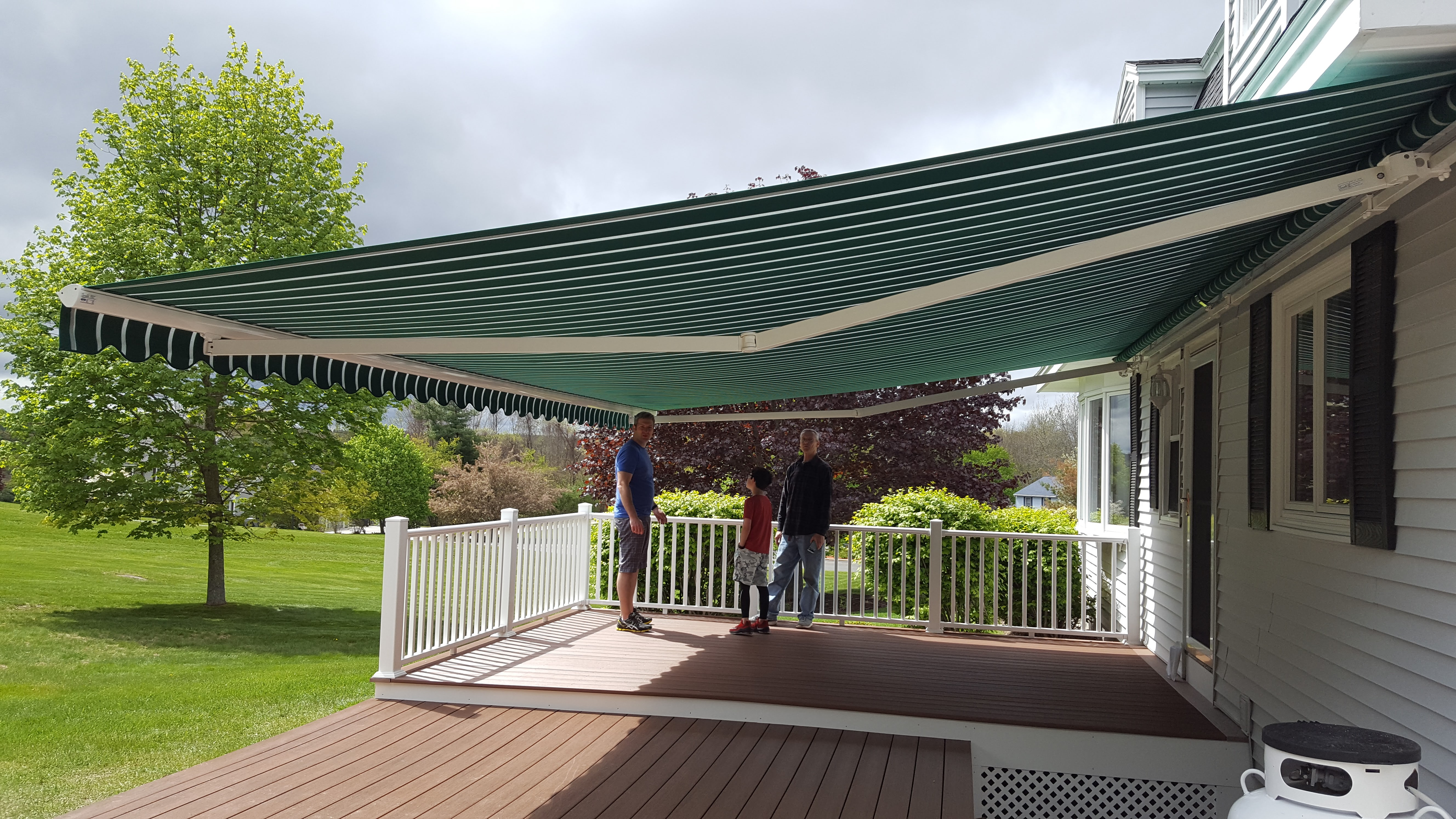 your one new dealer awning installation for sunsetter jersey local of awnings is shade all motor faq patio retractable