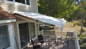 Sunesta Awning in North Conway NH shades