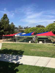 effective shade sails over dog kennels