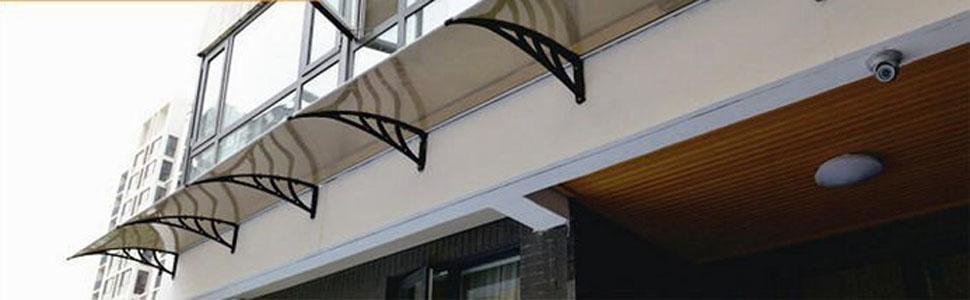 Simple and effective awning can dress up your home or business