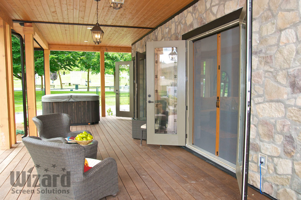 Wizard Retractable Screen Doors Awningsnh