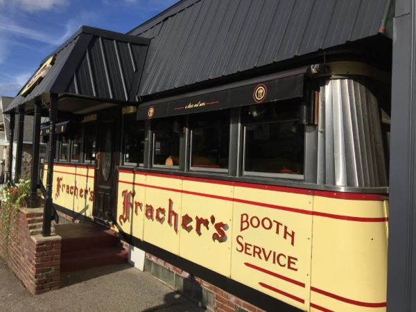 Frachers Diner Plymouth Business Awning Awningsnh
