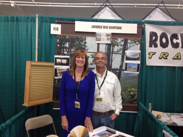 Rod and Kiera Ladman at a home show