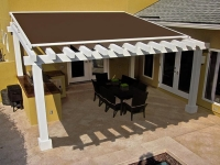 retractable roof shelter