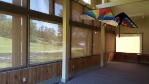 Solar Shades installed at UNH in Durham, NH