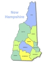 state of nh display graphic