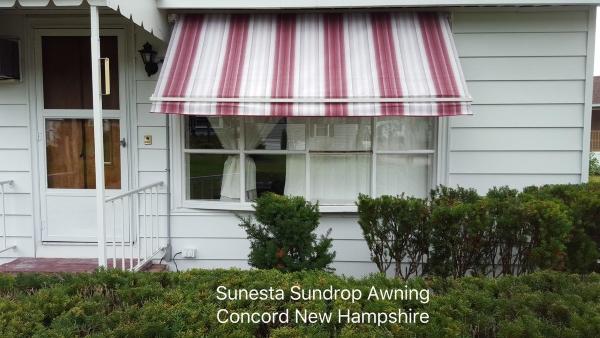 sunesta sundrop window awning in concord nh