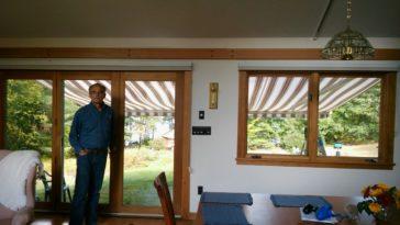 Rod Ladman in sandwich NH home.