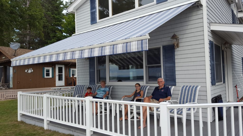Awnings installation in saco maine