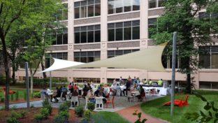 andover mass .sail shade project
