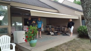 retractable awning in Enfield NH