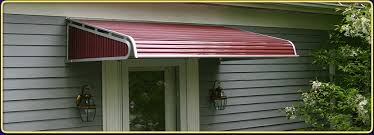 aluminum entry dor awnings and canopies are perfect for New Englands harsh weather