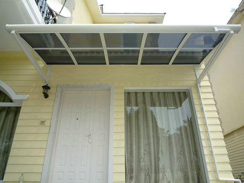 protect your entry in NH from rain and snow with a custom entry awning